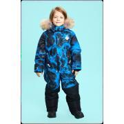 Зимний комбинезон STELLA KIDS для мальчика SKY (синий), 5 - 9 лет