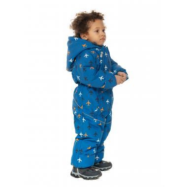 Зимний комбинезон STELLA KIDS для мальчика FLY (голубой), 9 мес. - 1,5 года