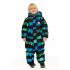 Зимний комбинезон STELLA KIDS для мальчика STONES (черный/изумруд), 2 - 4 лет