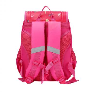 Школьный рюкзак для девочек GRIZZLY (фуксия)