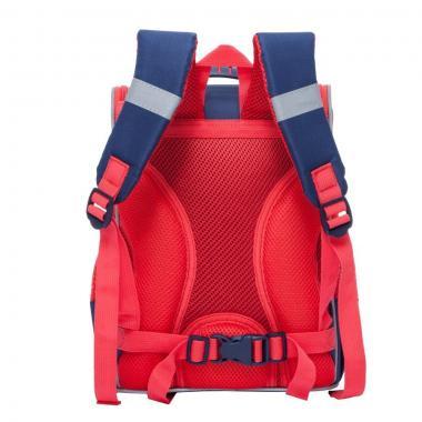 Школьный рюкзак для девочки Grizzly (темно-синий)