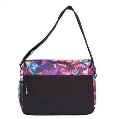 Женская молодёжная сумка Grizzly (бабочка/фуксия)