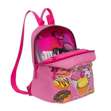 Женский городской рюкзак Grizzly (розовый)