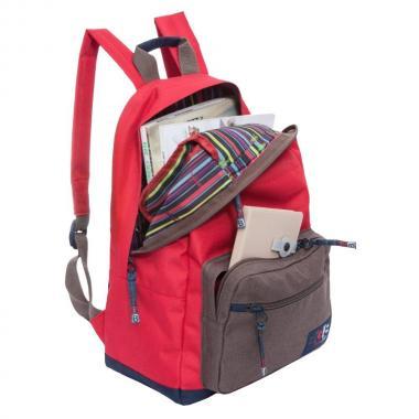 Городской рюкзак Grizzly (красный)