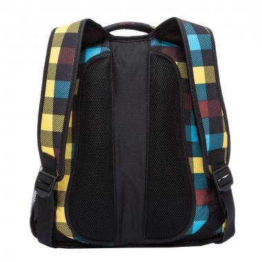 Молодежный рюкзак GRIZZLY  RU-925-2 (клетка радуга)