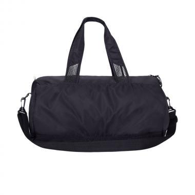 Мужская спортивная сумка GRIZZLY (черный - синий)