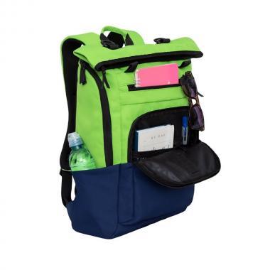 Мужской рюкзак GRIZZLY (салатовый - синий)