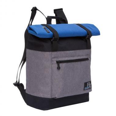 Молодёжный рюкзак Grizzly (черный - серый)