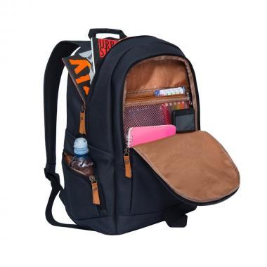 Мужской рюкзак GRIZZLY — RQ-901-1 (черный)