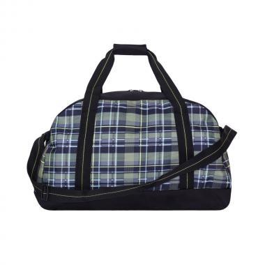 Мужская спортивная сумка Grizzly (клетка оливковая)