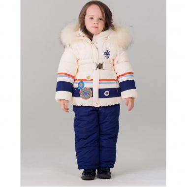 Купить Зимний комплект для девочки BILEMI (молочный), 1,5-6 лет