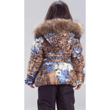 Купить Зимний комплект для девочки RADRADA (бежевый/голубой), 2-9 лет