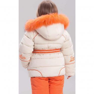 Купить Зимний комплект для девочки BILEMI (оранжевый), 2 - 7 лет