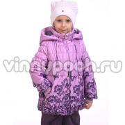 Весенний комплект Kiko для девочки (сирень/фиолетовый), 3-8 лет