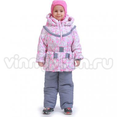 Купить Весенний комплект Kiko для девочки МАРТА (розовый), 1-6 лет