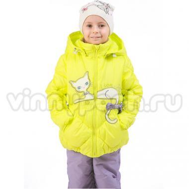 Купить Весенний комплект Kiko для девочки КИТТИ (лимон), 1-6 лет