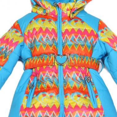 Купить Весенний комплект Kiko для девочки АКВАРЕЛЬ (голубой), 1-4 года