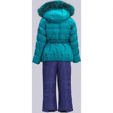Купить Зимний комплект для девочки RADRADA (зеленый), 3-9 лет