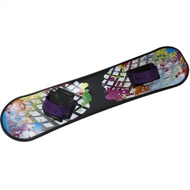Сноуборд пластиковый с облегченными креплениями