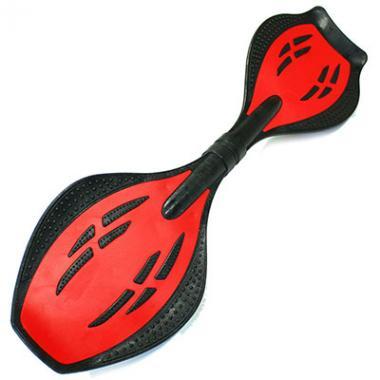 Двухколесный скейт Dragon Board Junior Destroy, красный