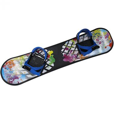 Сноуборд пластиковый с пластиковыми креплениями