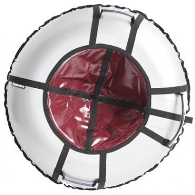 Тюбинг Hubster Ринг Pro серый-бордовый