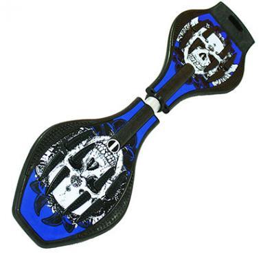 Двухколесный скейт Dragon Board Calavera синий