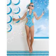 Купальник для девочек (трикини) + заколка GS 031504A AF Bailey (голубой)