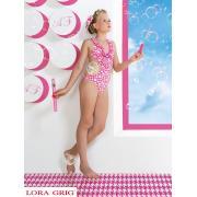 Купальник для девочек (трикини) + заколка GS 031504A AF Bailey (розовый)